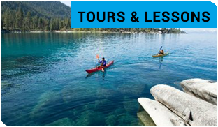 Kayaks, Stand Up Paddleboards & Sailboats Rentals at Sand Harbor State Park