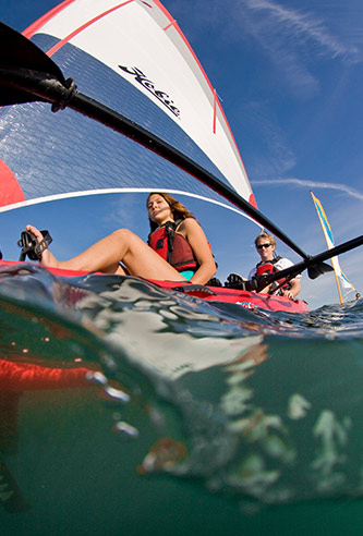 Hobie Mirage Adventure Island Sailboat Rentals & Lessons
