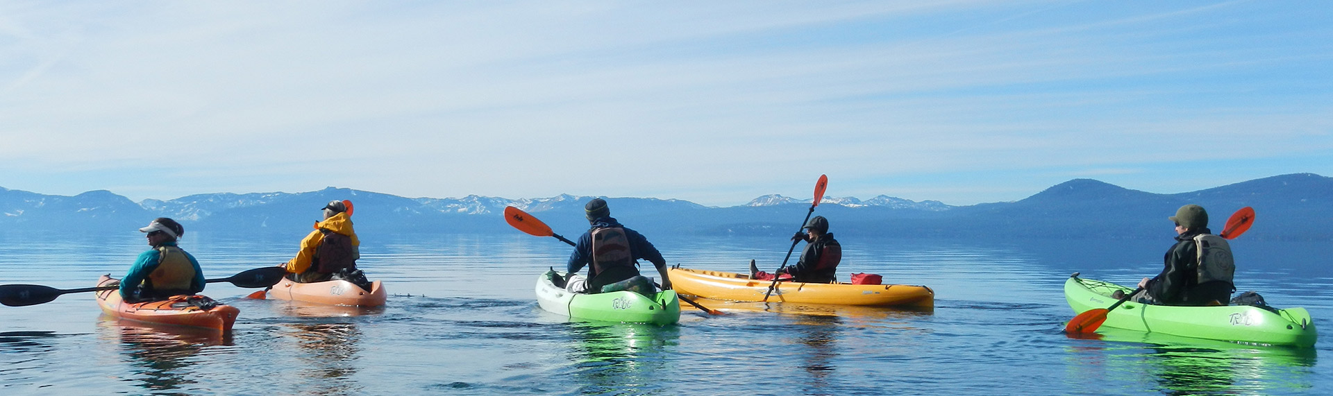 Sand Harbor State Park Kayak & SUP Rentals, Lessons & Tours