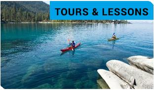 Kayaks, Stand Up Paddleboards & Sailboats Rentals at Sand Harbor State Park