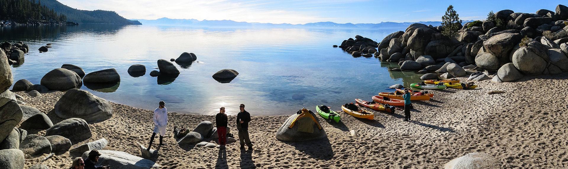 Sand Harbor Rentals Kayak SUP