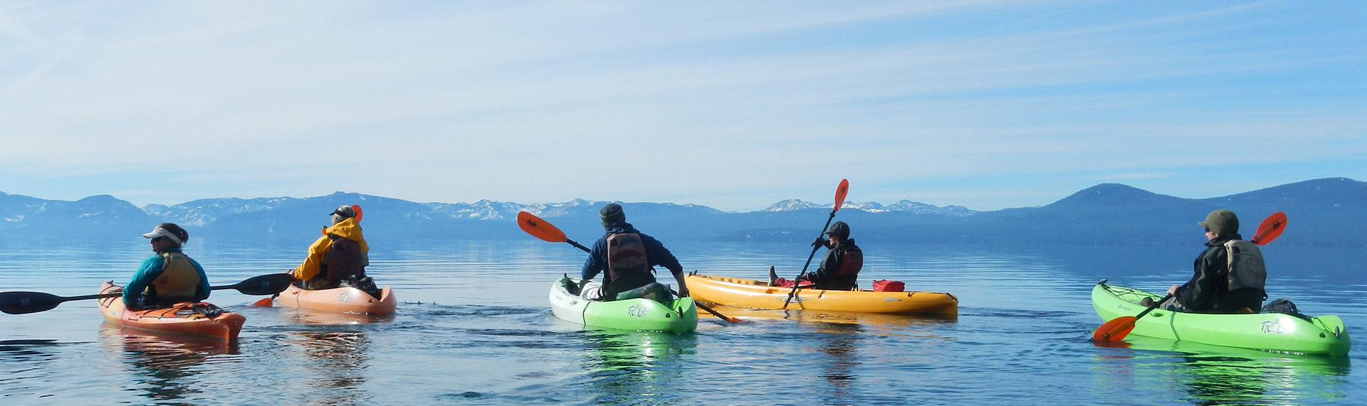 Sand Harbor State Park Kayak & SUP Rentals, Lessons & Tours